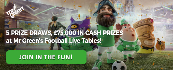 Click to join Mr Green casino