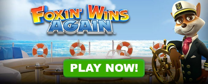 Play Foxin Wins Again slot at LeoVegas casino