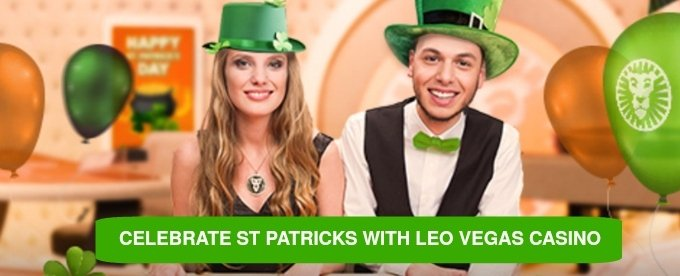 Celebrate St Patrick's Day and win cash at LeoVegas Casino