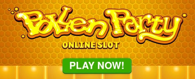 Play Pollen party slot at Casumo Casino