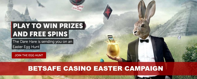 Join the Betsafe Easter Hunt