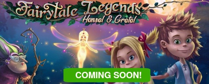 Play Fairytale Legends: Hansel and Gretel slot ta Casumo Casino soon