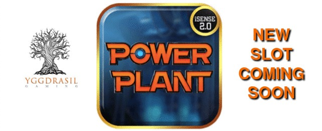 Play Power Plant slot at LeoVegas casino from 24th April