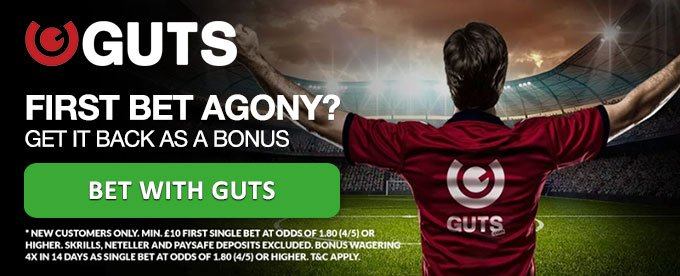 Bet with Guts sportsbook here!