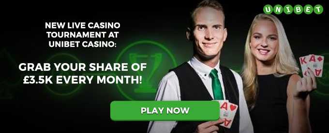Play now with Unibet
