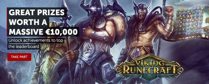 10K Viking Runecraft Competition at Betsafe Casino