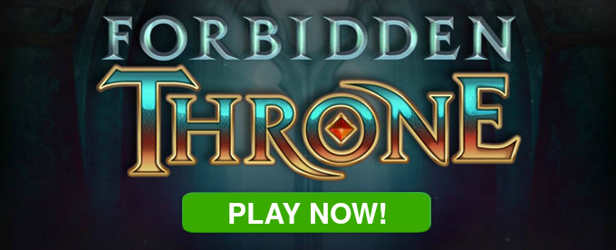 Play Forbidden Throne slot at Dunder casino