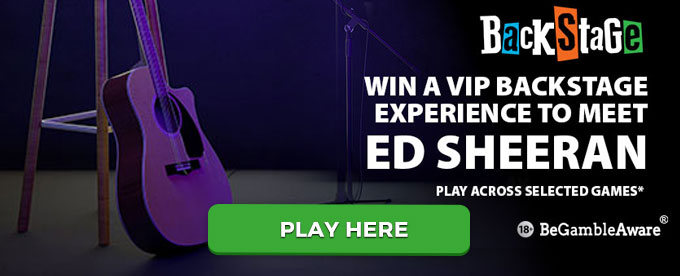 Bgo casino awarding vip backstage passes to see ed sheeran play with bgo casino here m4hsunfo