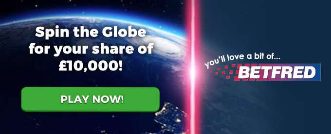 Play now with Betfred casino!