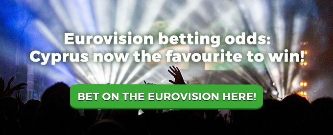 Eurovision betting odds: Cyprus now the favourite to win
