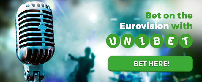 Bet on the Eurovision with Unibet