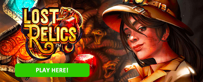 Click to play Lost Relics slot