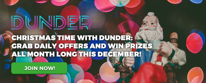 Dunder Christmas offers