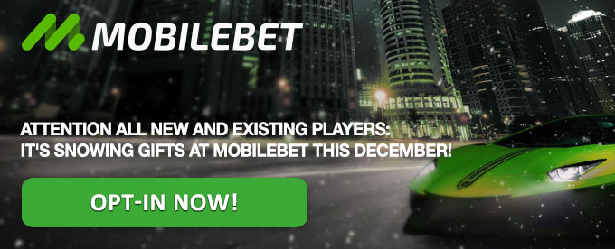 Mobilebet Christmas Calendar opt-in