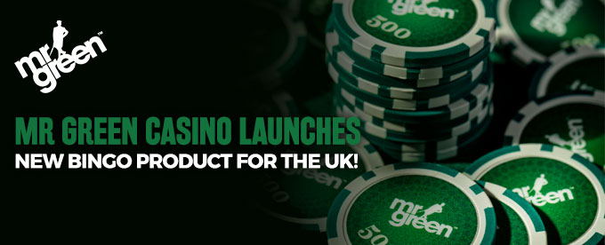 Mr Green new Bingo product