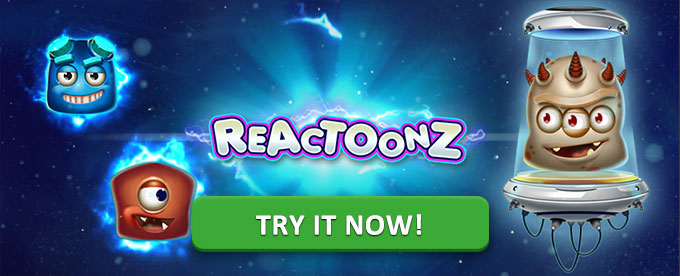 Play Reactoonz now!