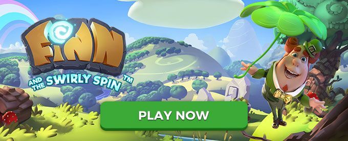 Finn and the Swirly Spin slot - Play this November