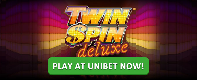 Play Twin Spins Deluxe slot at Unibet casino