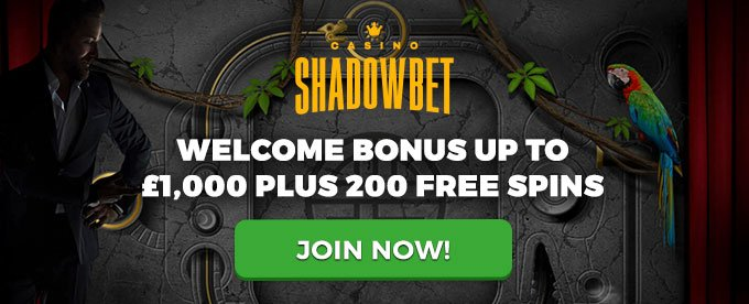 Join Shadowbet casino and get your bonus now